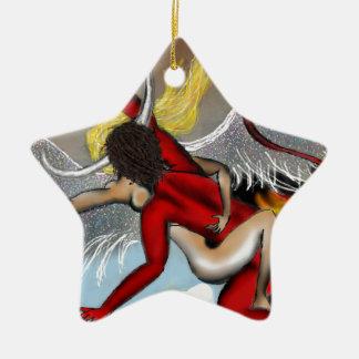 Taboo Rapture Ceramic Star Ornament