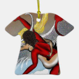 Taboo Rapture Ceramic T-Shirt Ornament