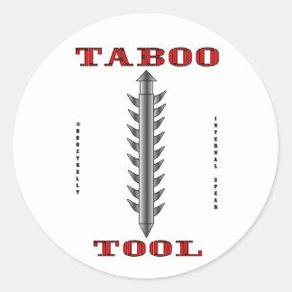Taboo Tool, Oil Field Sticker