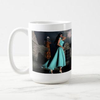 Taboo Vixens #2:  Dia'Gella Ice-Heart Classic White Coffee Mug