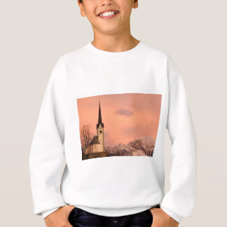 Tabor church at sunrise sweatshirt