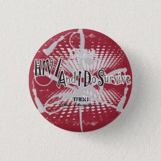 TABU HIV/Aids awareness 1 1/4 Button