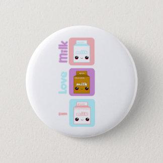 Tabu Japan- Milk Line 2 Inch Round Button