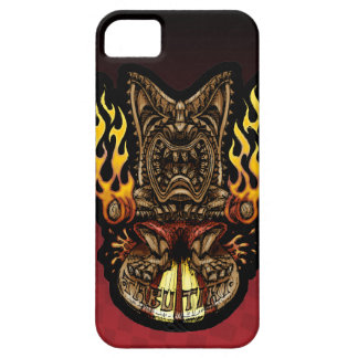 Tabu Tiki Surfing Tropical Fire God iPhone 5 Cover