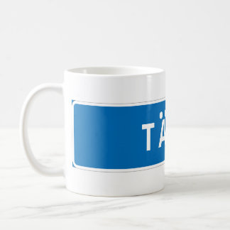 Taby, Swedish road sign Coffee Mug