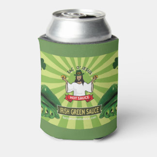 Tac O'Jesus St Patty's Day Can Cooler