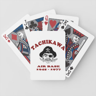 Tachikawa Air Base Japan playing cards