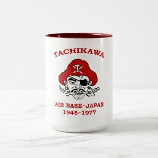 Tachikawa Air Base Japan Two-Tone Coffee Mug
