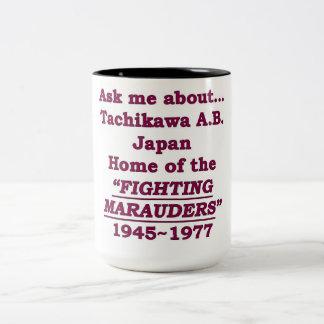 Tachikawa Air Base Marauders Japan Two-Tone Coffee Mug