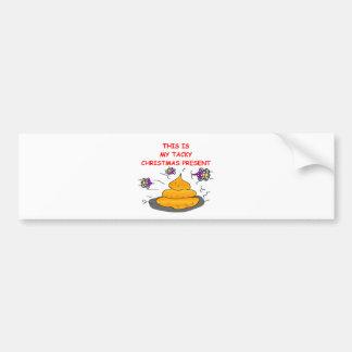 tacky christmas present bumper stickers