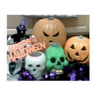 Tacky Halloween Postcard