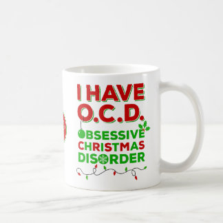 Tacky Obsessive Christmas Disorder Mugs