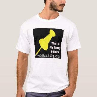 tacky, Pinwilz Black Square T-Shirt