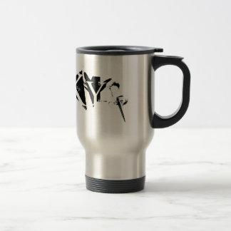 Tacky travel mug