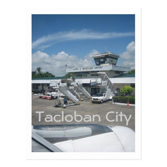 Tacloban airport postcard