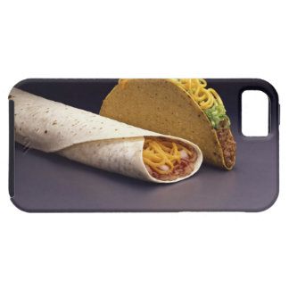 Taco and bean burrito iPhone 5 covers