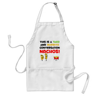Taco and Burrito Business Standard Apron
