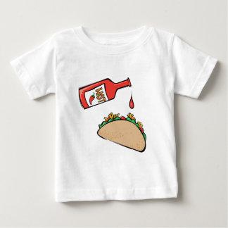 Taco and Hot Sauce Baby T-Shirt