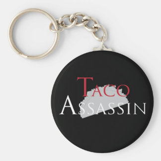 Taco Assassin Key Chain