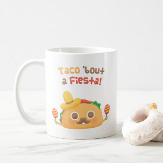 Taco Bout A Fiesta Pun Humor Mug