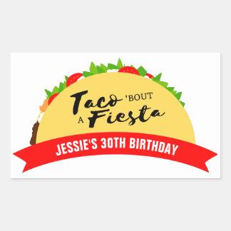 Taco 'Bout A Fiesta Sticker