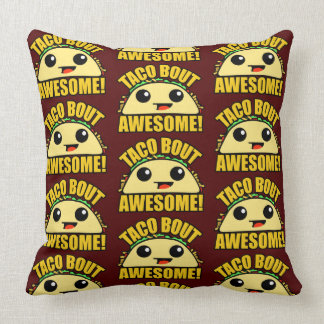 Taco Bout Awesome TP Throw Pillow