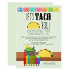 Taco 'Bout Birthday Party Invitation