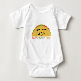 Taco 'Bout Cute Baby Bodysuit