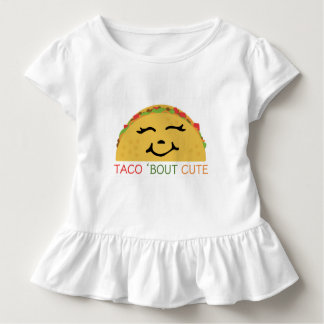 Taco 'Bout Cute Toddler T-shirt