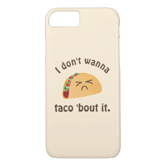 Taco 'Bout It Funny Word Play Food Pun Humor Case-Mate iPhone Case
