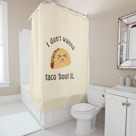 Taco 'Bout It Funny Word Play Food Pun Humour