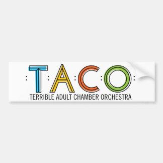 TACO Bumper Sticker