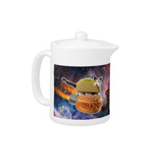 taco catand rockethamburger in the universe