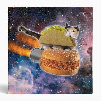 taco catand rockethamburger in the universe binders