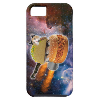 taco catand rockethamburger in the universe iPhone 5 covers