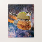 taco catand rockethamburger in the universe jigsaw puzzle