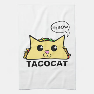 Taco Cat Kitchen Towel