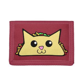 Taco Cat Tri-fold Wallets