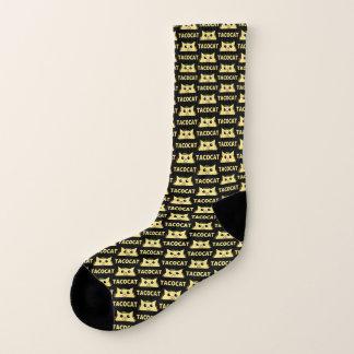 Taco Cat WT Black Socks