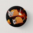 Taco Cats Space 1 Inch Round Button