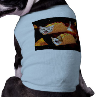Taco Cats Space Dog Tshirt