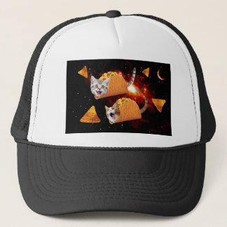 Taco Cats Space Trucker Hat
