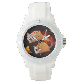 Taco Cats Space Watches