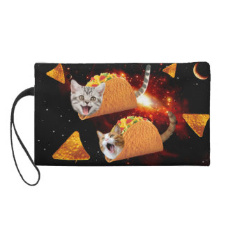 Taco Cats Space Wristlets