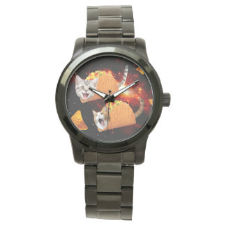 Taco Cats Space Wristwatches