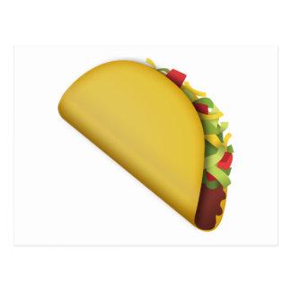 Taco - Emoji Postcard
