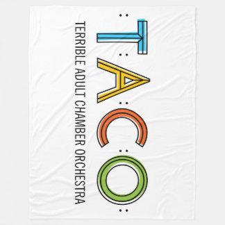 "TACO Fleece Blanket, 60""x80"""