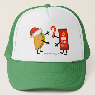 Taco & Hot Sauce - Christmas Trucker Hat