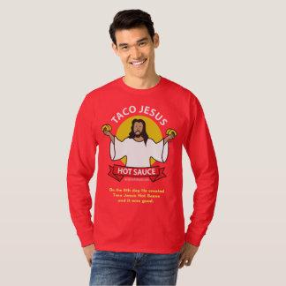 Taco Jesus Slogan T-Shirt