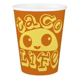 Taco Life Paper Cup